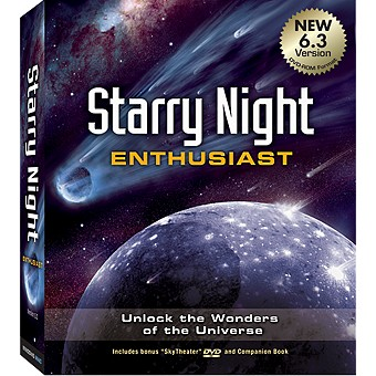 Starry Night Enthusiast 6.2 Astronomy Software